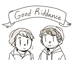 good riddance by houndcore